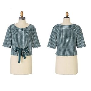 Anthro Elevenses Tea Cozy Wool Cropped Jacket 10